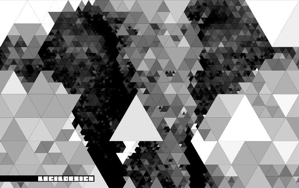 Recursive Image Tessellation Elephant Mill