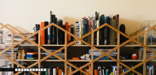 Woven Bookshelf